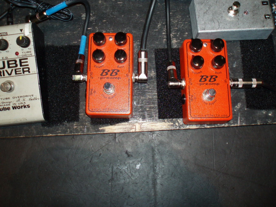 Andy's double BB pedals